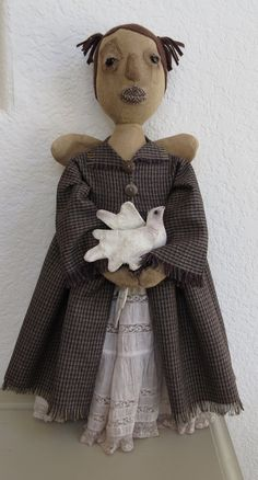 PRIMITIVE ANGEL by bayrayschild on Etsy, $49.00