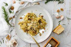 Gluten Free Spaghetti with Walnut & Rosemaery Pesto 1-1024