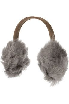 Get yourself a fuzzy pair of earmuffs to keep your ears from freezing off!
