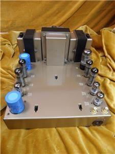 Leak Stereo 20 Valve Amplifier  Rebuilt - Very Good Paintwork