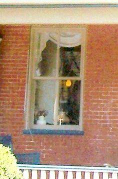 Photo of Gettysburg ghost: for more true ghosts of the Civil War see:http://www.booksamillion.com/p/Ghosts-Haunts-Civil-War/Christopher-Kiernan-Coleman/9781558537859?id=5826563501315