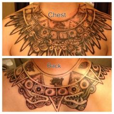 38 Best Aztec Armor Tattoo Images Armor Tattoo Cool Tattoos