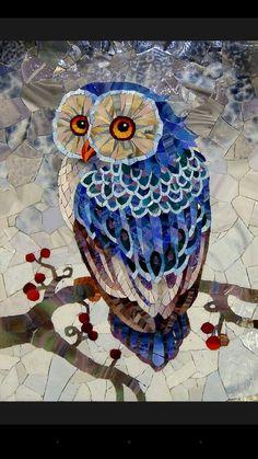 Mozaik Baykus