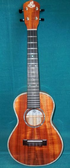 LoPrinzi koa Tenor Ukulele  Lardys Ukulele of the day 2017  --- https://www.pinterest.com/lardyfatboy/