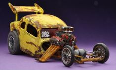 Click this image to show the full-size version. Voitures Hot Wheels, Moped Bike, Model Cars Building, Custom Hot Wheels, Derby Cars, Classic Hot Rod, Plastic Model Cars, Model Cars Kits, Pedal Cars