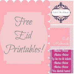 Eid Printables-Free
