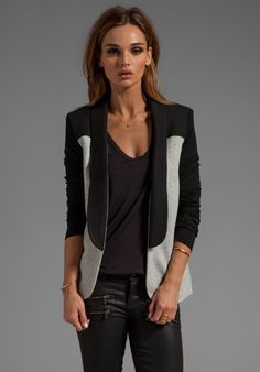 PENCEY STANDARD Warrior Blazer in Black - Jackets & Coats