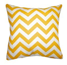Premier Prints Zig Zag Corn Yellow Decorative Throw Pillow Lumbar or Square | eBay