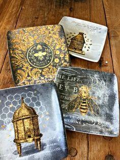 Ceramic Beehive Plates