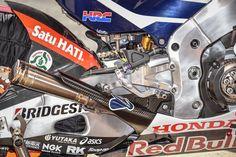 Honda de Márquez. Una vistazo a su latetal