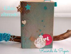 libro alterado scrapbooking, art journaling