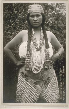 """C. HART MERRIAM COLLECTION: California Tribes and Other American Indians – """"Tolowa Girl"""" (1938) #C. HART MERRIAM"""