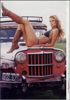 Sexy on a Jeep Jeep Girl