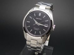 Seiko Men's Japanese-Automatic Watch with Stainless-Steel Strap, Silver, 20 (Model: Seiko Sarb, Seiko Watches, Seiko Automatic, Automatic Watch, Cool Watches, Watches For Men, Modern Watches, Cheap Watches, Vintage Watches