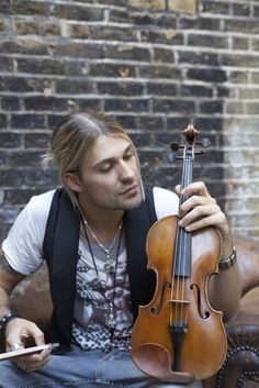 David Garrett. My favorite Violinist