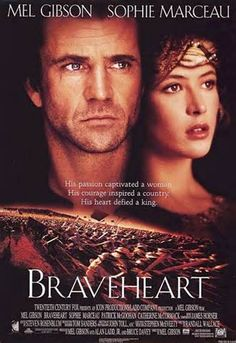Directed by Mel Gibson. With Mel Gibson, Sophie Marceau, Patrick McGoohan, Angus Macfadyen. When his secret bride is executed for assaulting an English soldier who tried to rape her, William Wallace begins a revolt against King Edward I of England. Cinema Tv, Cinema Posters, Movie Posters, William Wallace, Sophie Marceau, Top Movies, Great Movies, Comedy Movies, See Movie