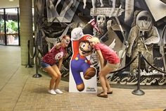 Who wouldn't want a selfie with Mario?