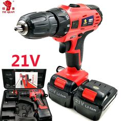 Rechargeable sans fil électrique Tournevis Mini Perceuse à Main Power Driver Drill