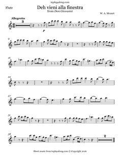 Mozart turkish march sheet music for recorder recorder - Mozart don giovanni deh vieni alla finestra ...