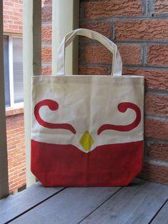 Legend of Zelda - Wind Waker Messenger Bag Tote. (Sold) http://sneakycoon.etsy.com