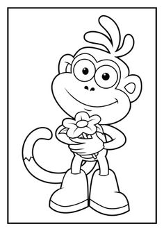 dora stars coloring pages - photo#36