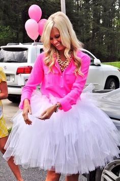Bridal Shower or Bachelorette, she is so cute! I am sooo wearing a tutu for my bachelorette party! Wedding Wishes, Wedding Bells, Lingerie Shower, Lingerie Party, No Sew Tutu, Shower Outfits, Party Outfits, Before Wedding, Up Girl