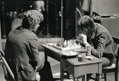 Todd Rundgren & Rick Danko playing chess early 1970's