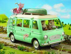 Sylvanian Families - Campervan - Camping-car (Véhicule): Amazon.fr: Jeux et Jouets
