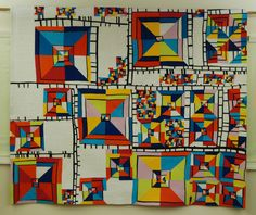 Margaret Black Line Study 17 ©MB 90 by 75 Kona cottons, thread, wool batting, cotton batting. Free-form cut and pieced, straight-line machine quilted. BEST OF SHOW QUILT NATIONAL 2017 Gees Bend Quilts, Barn Art, Quilt Modernen, Colorful Quilts, Textile Fiber Art, Contemporary Quilts, Machine Quilting, Quilt Making, Quilting Designs