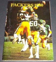 NFL Original GREEN BAY PACKERS 1980 Media Guide, Player Illustrated & Bart Starr