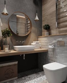 mater bathroomisvery important for your home. Whether you choose the small bathroom storage ideas or diy bathroom remodel ideas, you will make the best bathroom remodeling for your own life. Beton Design, Concrete Design, Luminaire Design, Concrete Lamp, Industrial Interior Design, Industrial Bathroom, Modern Interior, Bad Inspiration, Bathroom Inspiration