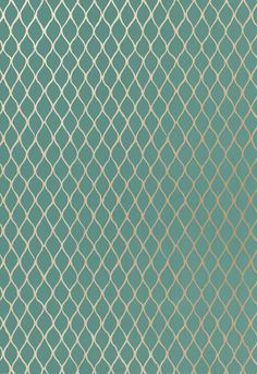 Wallcovering / Wallpaper | Valencia in Turquoise | Schumacher