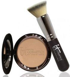 iT Cosmetics celebration foundation and brush