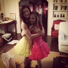 Dance Moms!  Brooke & Maddie