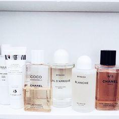 Top Shelf - Chanel and Byredo