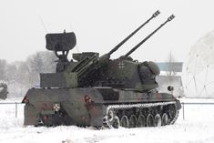 Flakpanzer Gepard Self-Propelled Anti-Aircraft Gun (Germany)