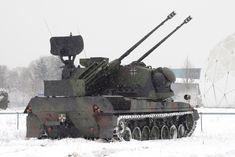 Flakpanzer Gepard Self-Propelled Anti-Aircraft Gun (Germany)