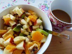 Die Saisongärtnerin startet am liebsten mit viel frischem Obst in den Tag.