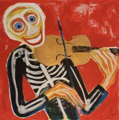 Violinist/Maarit Korhonen, acrylic, oil sticks, canvas, 65cm x 65cm Original Music, Original Art, Music Painting, Art Oil, Artwork Online, Buy Art, Saatchi Art, Original Paintings, Canvas Art