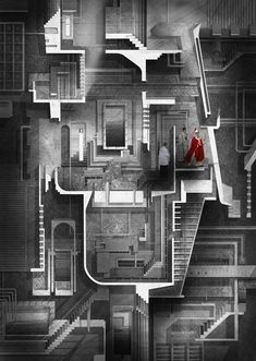 Pontifical Academy of Sciences by Benjamin Ferns won a RIBA student award for exceptional drawing skills.