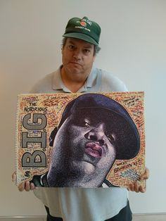The Notorious B. drawn by The (less than) Notorious T. (The White Bear) Sharpies. I couldn't get that gangsta look down, though. Sharpie Drawings, Sharpie Art, Sharpie Markers, Sharpies, Small Drawings, Biggie Smalls, Scribble, Bmx, Baseball Cards