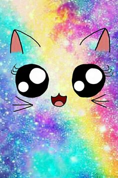 Cute wallpaper & kawaii backgrounds for girls ! Unicorn Wallpaper Cute, Cute Galaxy Wallpaper, Cute Panda Wallpaper, Rainbow Wallpaper, Cute Disney Wallpaper, Kawaii Wallpaper, Wallpaper Iphone Cute, Glitter Wallpaper, Unicornios Wallpaper