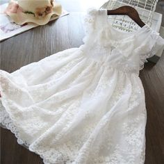 Princess Flower Girl Dresses, Baby Girl Party Dresses, Princess Dress Kids, Girls Lace Dress, Baby Girl Princess, Wedding Dresses For Girls, Toddler Girl Dresses, Flower Dresses, Dress Wedding