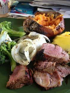 Pork Tenderloin With Vegetables. #porktenderloin