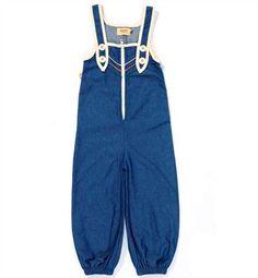 Blå Calvin Zipper Crawlers Fra Albababy