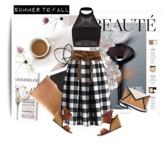 """Summer to Fall"" by pattykake ❤ liked on Polyvore featuring Chicwish, Boohoo, IRO, Pelcor, chicwish, boohoo, pelcor and nellybyvmb"