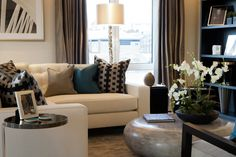 th2 Designs.©  Interior design, styling, bold, patterned cushions, artwork