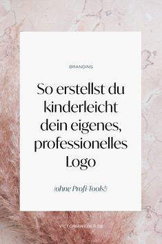 Business Inspiration, Web Design Inspiration, Professionelles Logo, Logo Design, Blog Logo, Future Jobs, Brand Style Guide, Writing Advice, Fashion Branding