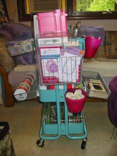 Mary's Crafty Designs: Raskog Cart