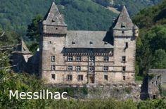 Château de Messilhac - Route des Châteaux d'Auvergne